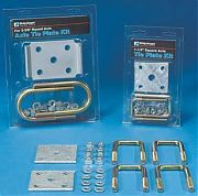 "Smith 23102 Axle Tie Plate Kit - 1-1/2"" Square Axles"