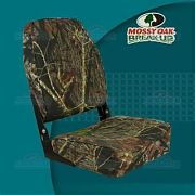 Springfield 1040646 High Back Fold Down Seat, Camouflage - Mossy Oak Break Up