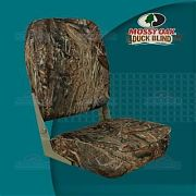 Springfield 1040647 High back Fold Down Seat, Camouflage - Mossy Oak Duck Blind