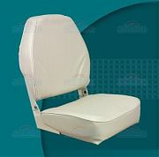 Springfield 1040649 High Back Fold Down Seat - White