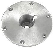 "Springfield 1600003 Taper-Lock Deck Base - 9"" Brushed Satin Base"