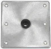 "Springfield 1620016 Kingpin Alumnum Seat Base - 7"" x 7"""