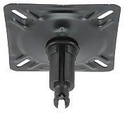 Springfield 1640203 Spring-Lock Seat Mount - Swivel-Aluminum