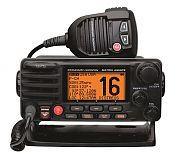 Standard Matrix AIS/GPS Black 25W Fixed Mount VHF Radio