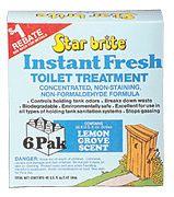 Star Brite 71761 Lemon Toilet Treatment 6/PK