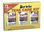 Star Brite 81216 Teak Care Kit Pint