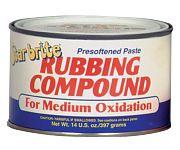 Star Brite 82614 Paste Rubbing Compound Medium 14oz