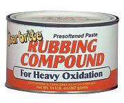 Star Brite 82616 Paste Rubbing Compound Heavy 14oz