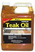 Star Brite 85100 Premium Gold Teak Oil 1 Gallon