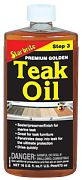 Star Brite 85116 Premium Gold Teak Oil 16oz