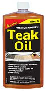 Star Brite 85132 Premium Gold Teak Oil 32oz