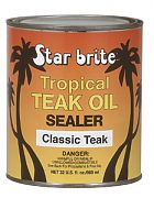 Star Brite 88032 Tropical Teak Oil-Sealer Classic 32oz