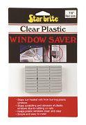 "Star Brite 88510 Clear Plastic Window Saver 1"""