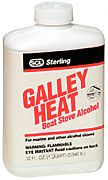 Sterling 080014 Galley Heat Stove Alcohol Quart