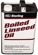 Sterling 102101 Boiled Linseed Oil Gallon