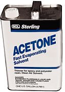 Sterling 400004 Acetone Quart