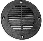 "T&H Marine FD4DP Floor Drain / Vent Cover - for 4"" Hole - Black"