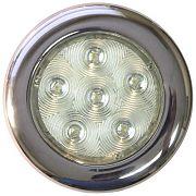 """T&H Marine LED51831DP LED Puck Light - 4"""" Dia - 6 Warm White LED"""