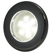 "T&H Marine LED51847DP Recessed 3"" LED Puck Flood Light - 3-Bezels - 6 White LEDs"
