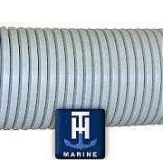 "T&H Marine RFH3DP Rigging Flange Hose, 2"", 50 ft. Roll, Gray"