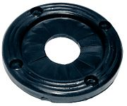 "T&H Marine UG1DP 2-3/8"" Black Utility Grommet"