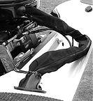 "T&H Marine ZRS1DP Zip Rigging Sleeve 48"" Black"