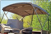"Taylor Made 1 1/4"" Square-Tube Bimini Top for 96"" Width"
