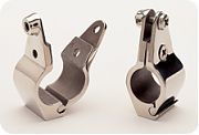 """Taylor Made 11749 7/8"""" Stainless Steel Railing Clamp"""