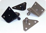 """Taylor Made 1861 2""""X 1.25"""" Angled SS Mnting Bracket Pr"""