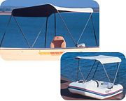 "Taylor Made 2-Bow Bimini BoaTop 67"" - 75"""