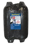 """Taylor Made 31016B2P BoatGuard Fender 2-Pack 6"""" x 22"""" - Black with Black Rope"""
