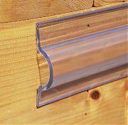 Taylor Made 45973 ClearVue Vinyl Dock Edging Standard C-Shape - 10´ Coil