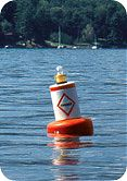 Taylor Made Green Can Regulatory Buoy