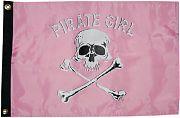 Taylor Made Pirate Girl 12X18 Nylon Flag