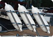"""Taylor Made Three-Fender 7"""" to 9"""" Stainless Steel Rack"""