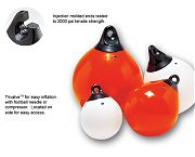 Taylor Made Tuff End Round Fenders & Inflatable Vinyl Buoys