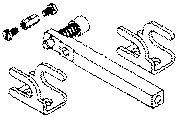 Teleflex CA27208P Johnson/Evinrude Connection Kit