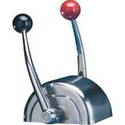 Teleflex CH5600P Domed Chrome Top Mount Single Function Control