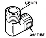 Teleflex HF5529 SeaStar Cylinder Fittings