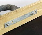 "Tie Down 26369 Backing Plate/Hurricane Strip - 2"" x 18"""