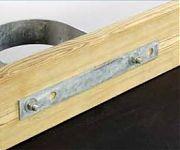 "Tie Down 26369 Backing Plate/Hurricane Strip - 2"" x 18"""