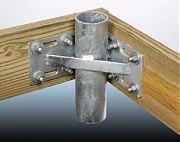 "Tie Down 26404 3"" Inside Corner Pipe Holder"