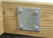 """Tie Down 26413 5"""" X 5"""" Back Up Plate"""