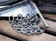 """Tie Down 95135 Galvanized Anchor Chain - 5/16"""" x 6´"""