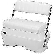 Todd 175818A White Center Console Swingback Seat - SS Arms