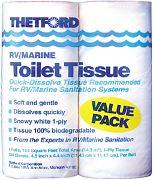 Toilet Tissue 1 Ply 4/PK