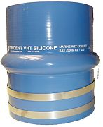 "Trident 272V3000SS Blue VHT Single Hump Bellows 3"" I.D"