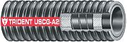 "Trident 3292004 Corrugated Type A2-CE Fuel Hose 2"" I.D"