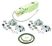 UFP by Dexter K71-114-00 Complete Brake Kit