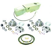 UFP by Dexter K71-116-00 Complete Brake Kit